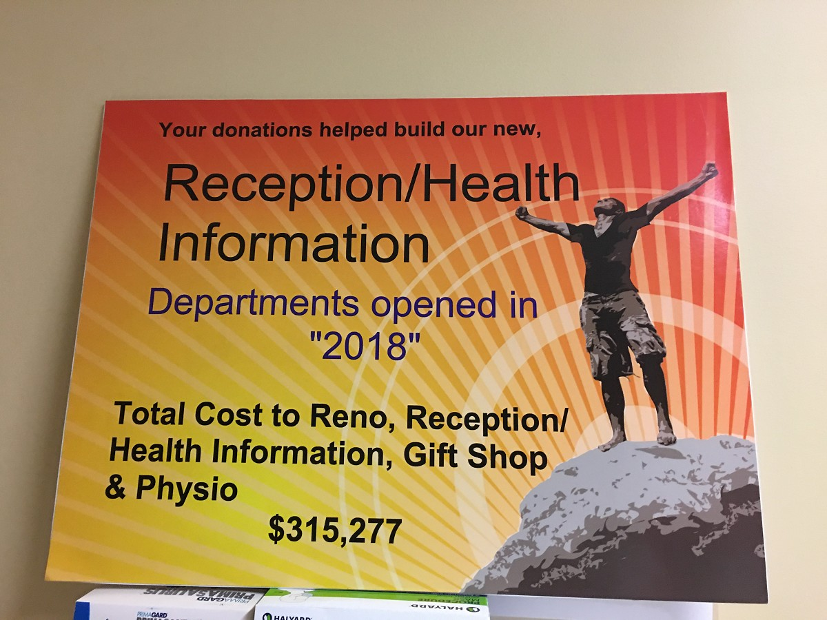 C2C Reception/Health Information